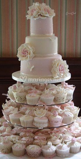 Cupcakes pour mariage