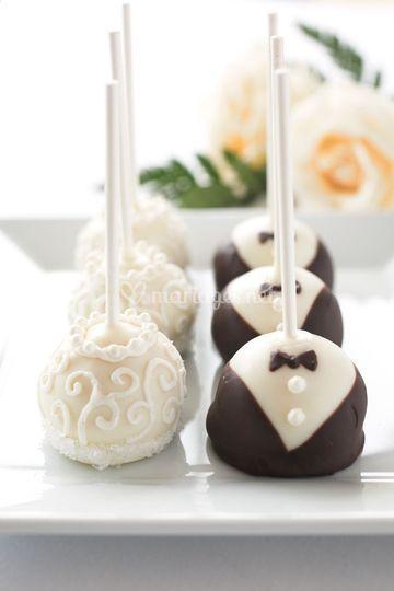 Cake pop pour Mariage