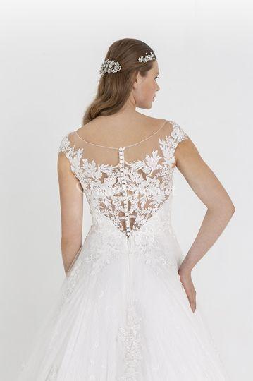 Robe de mariée Bulgarie dos