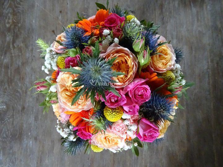 Bouquet coloré/estelle