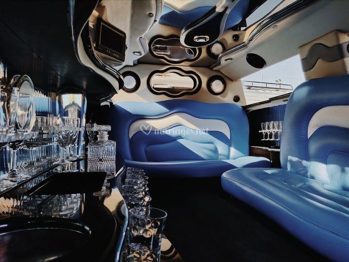 Intérieur Hummer Limousine