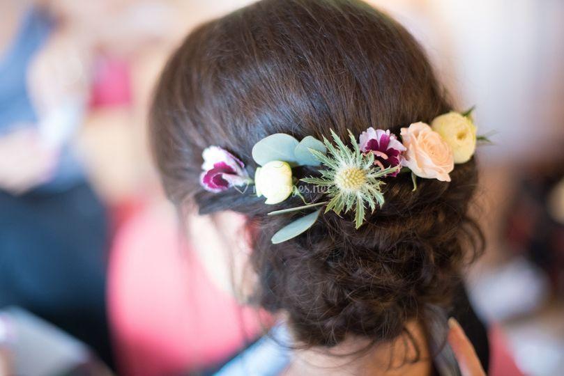 Fleurs pour cheveux/estelle
