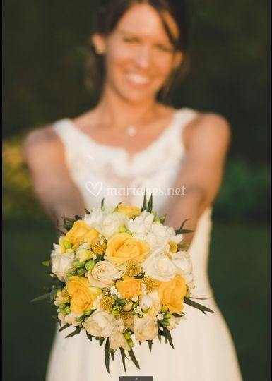 Bouquet mariée/Estelle Leclerc