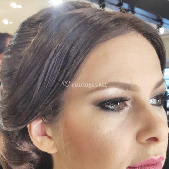 Mariée Glamour en soirée