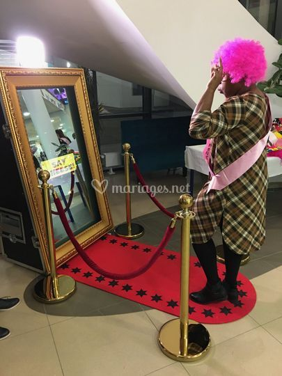 Photobooth miroir, Selfie Mirr