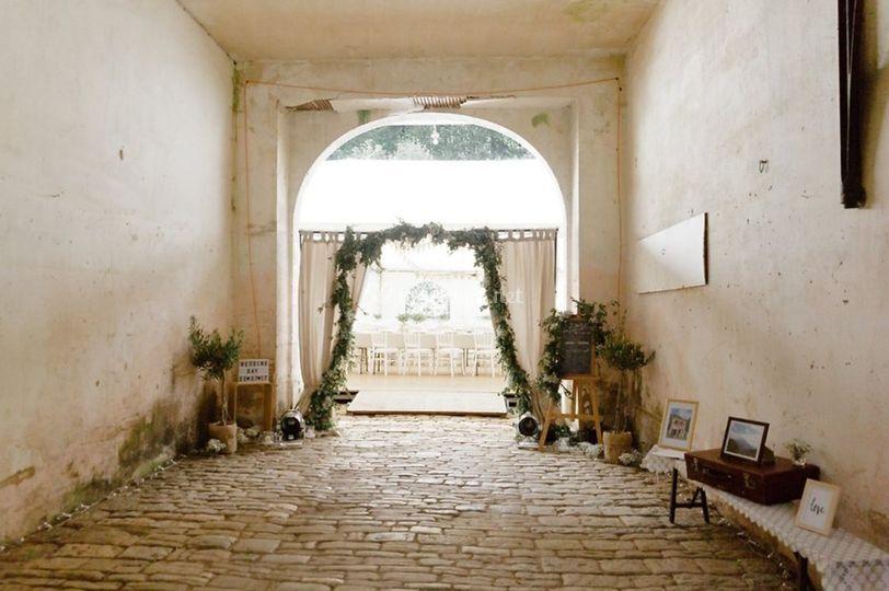 Mariage provençal - champêtre