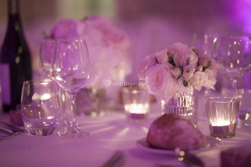 Centre de table romantiquechic