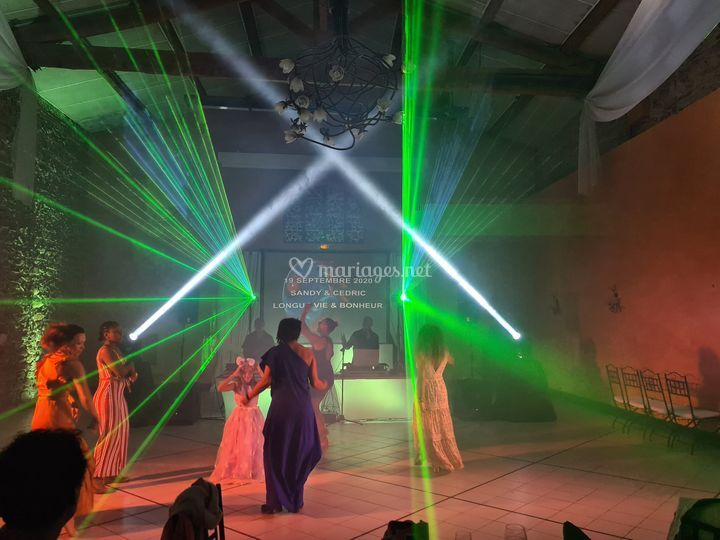 Ambiance Laser & Lyres 3