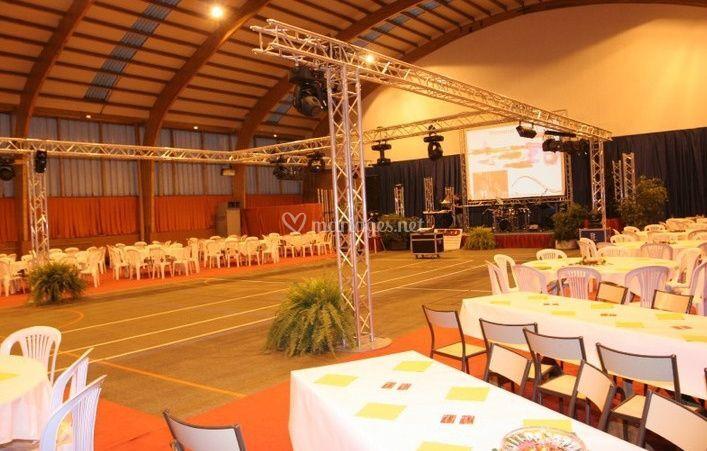 Grande salle pour réception