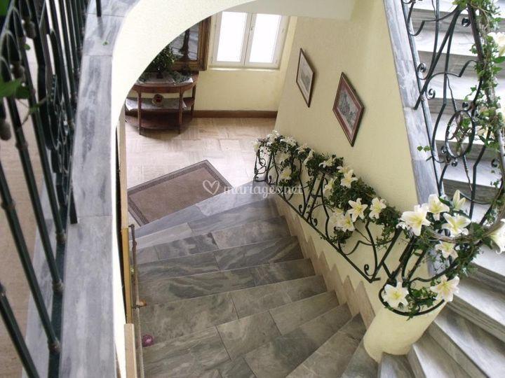 Escalier - Écuries