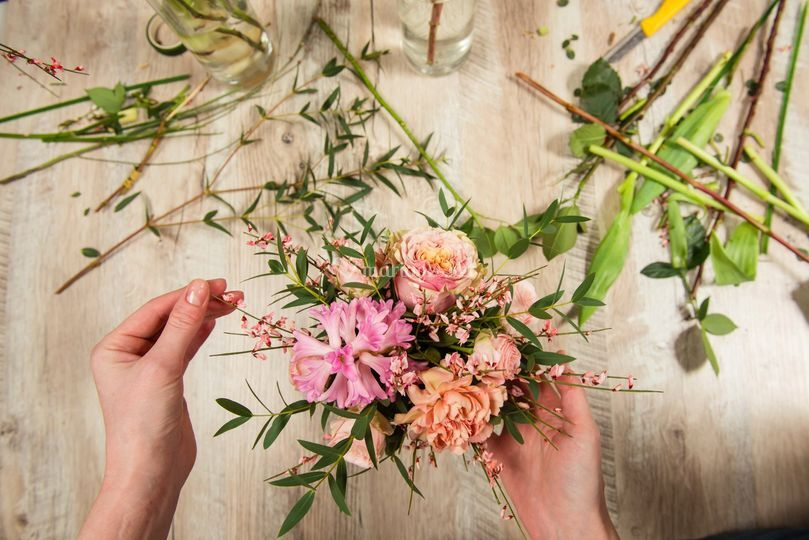 Essai décoration bouquet