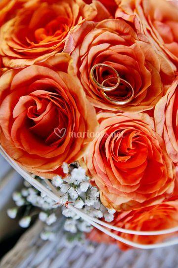 Mariage thème Orange
