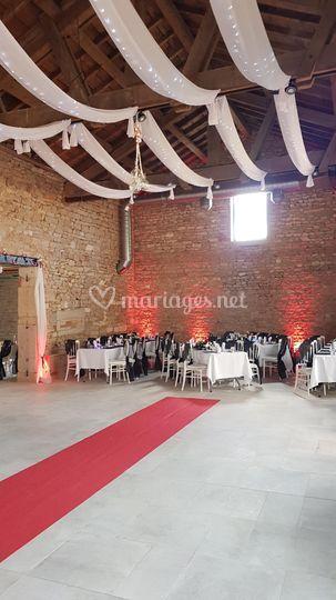 Intérieur grande salle