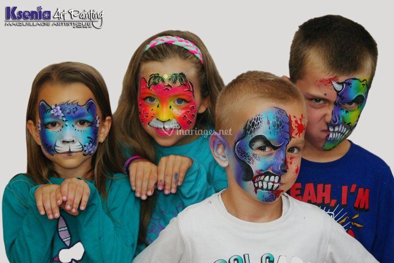 Maquillage variés