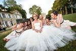 Les amies et la mariée
