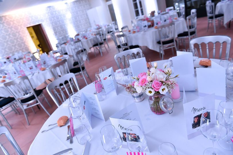 Centres de tables fleuris