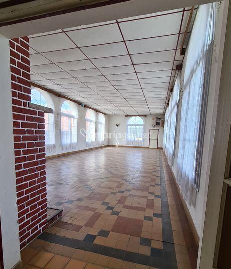 Salle en rénovation