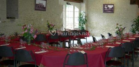 d coration de tables de restaurant du domaine de pescheray photo 4. Black Bedroom Furniture Sets. Home Design Ideas