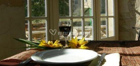 details de restaurant du domaine de pescheray photo 6. Black Bedroom Furniture Sets. Home Design Ideas