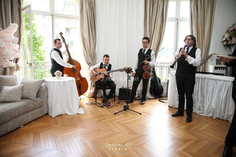 Quartet avec clarinette