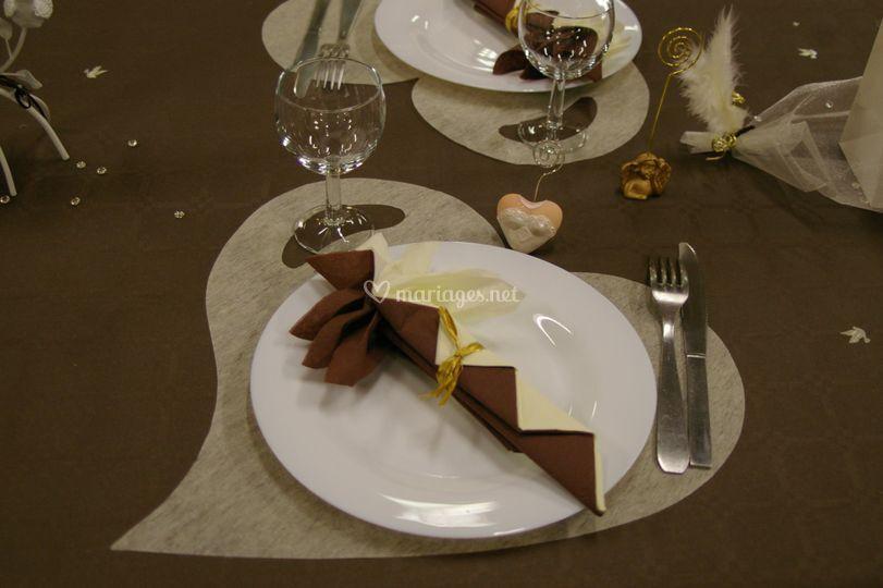 Ambiance ivoire & chocolat