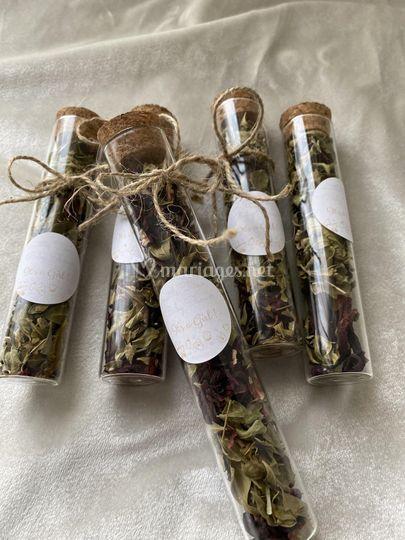 Fiole thé hibiscus