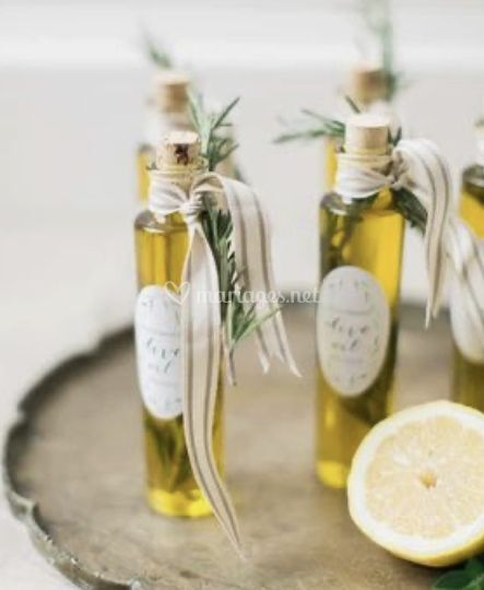 Fiole huile d'olive