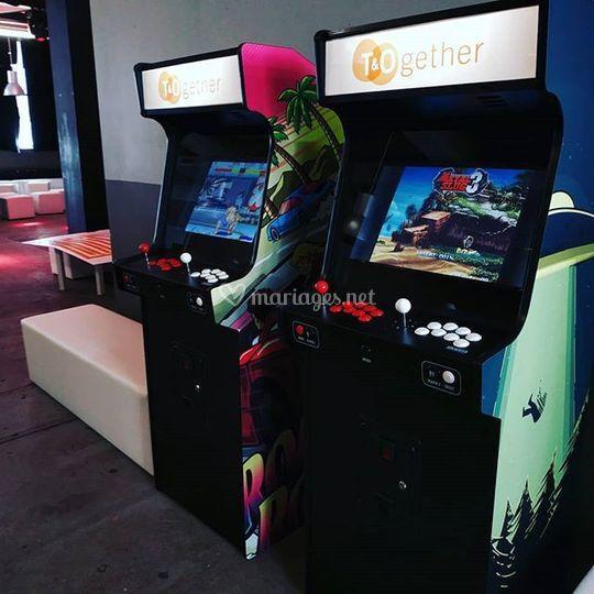 Borne d'arcade mariage