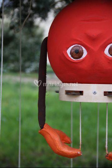 Zoom sur marionnette