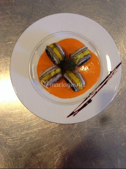 Macarons haddock