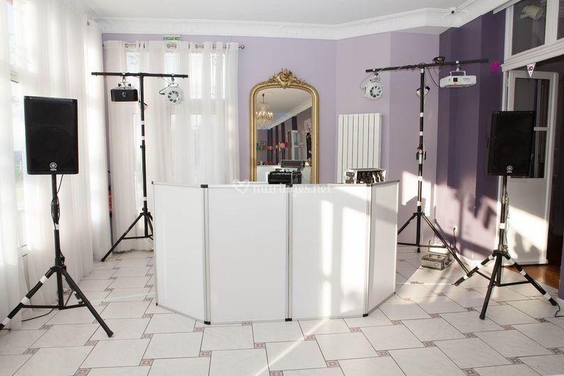 Installation DJ fini
