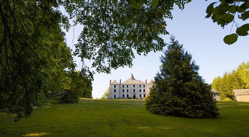 Château devant