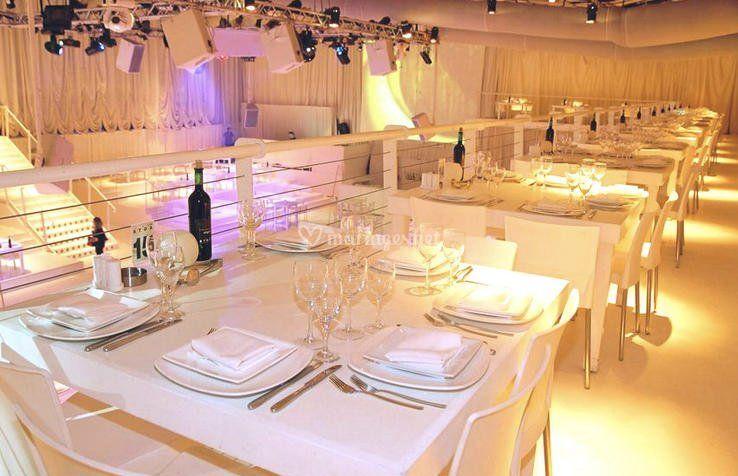 Salle de mariage moderne