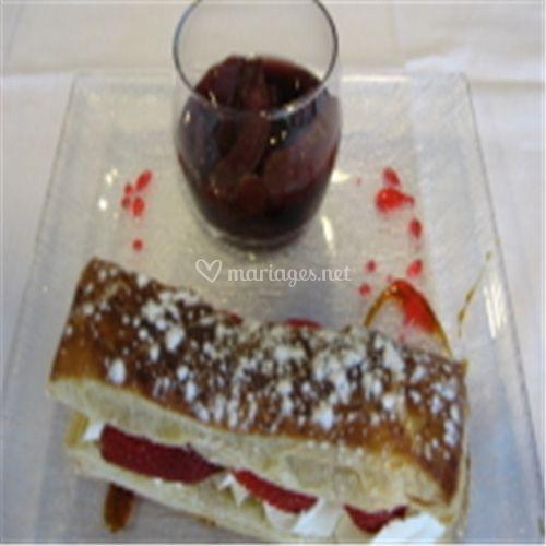 Dessert présentation