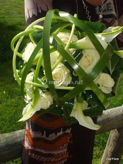Bouquet sous tresse