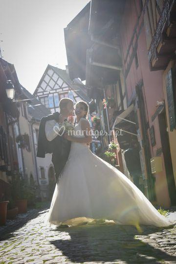 Mariés en Alsace