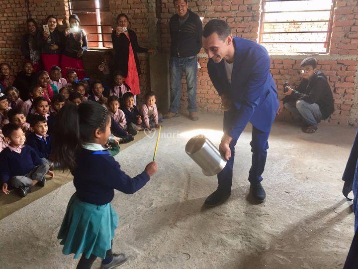 Voyage humanitaire au Nepal