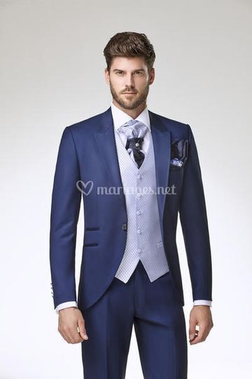 Costume bleu 2020