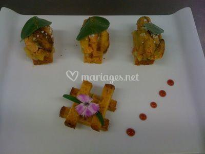 Assiette mariage