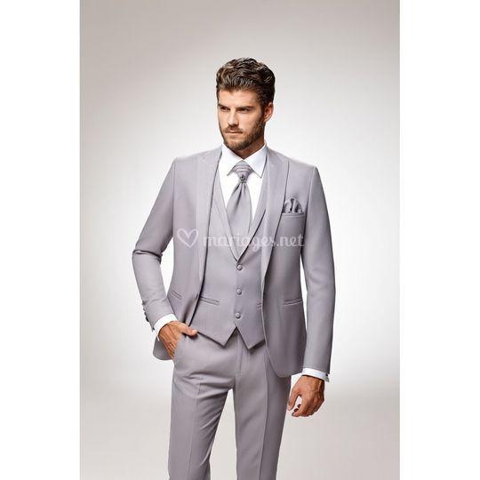 Parma Bleu parlimant Costume gris clair f372aa7d1db
