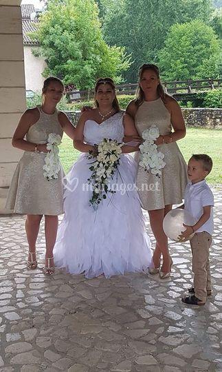 Robe de MB24 mariée2019 Pamela