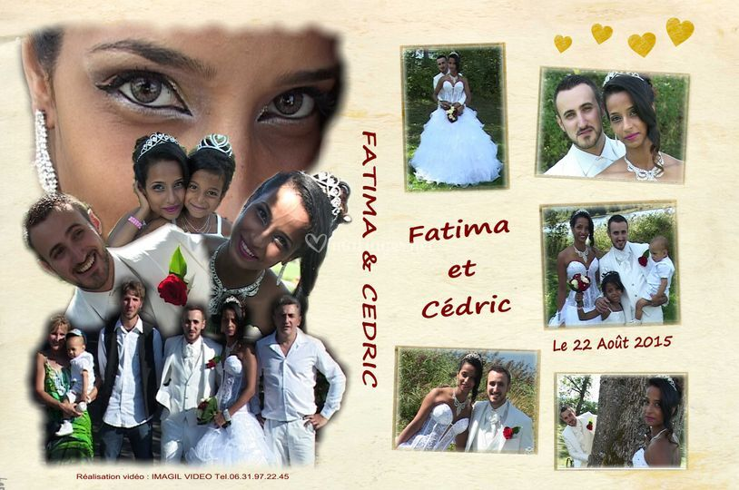Jaquette DVD Fatima et Cédric