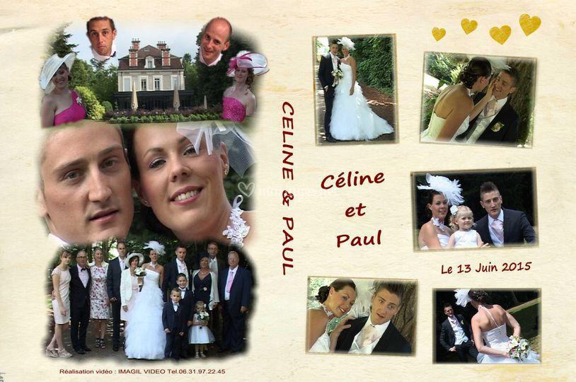 Jaquette DVD Céline et Paul