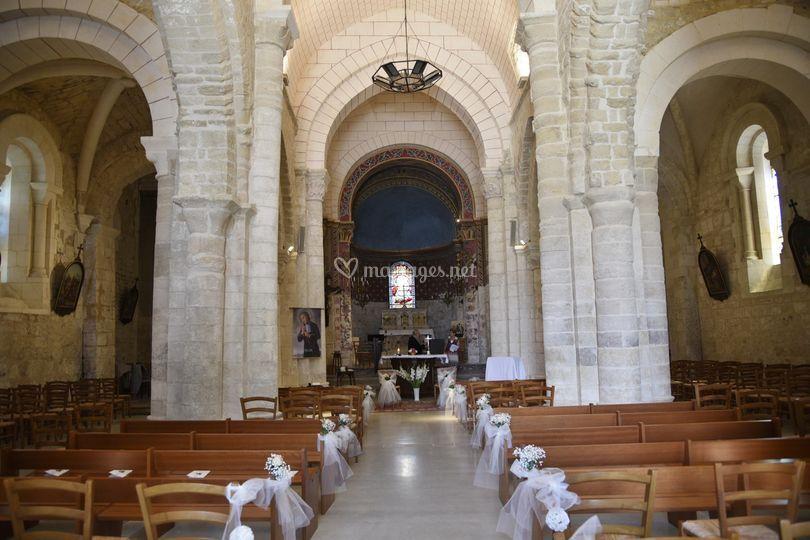 Eglise décorée