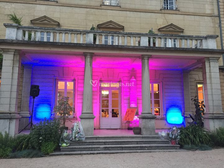 Illumination de façade