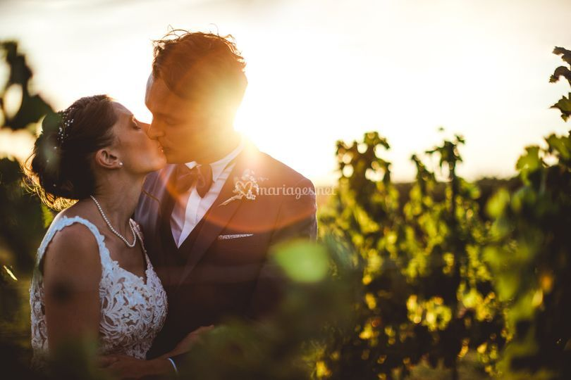Photo couple mariés