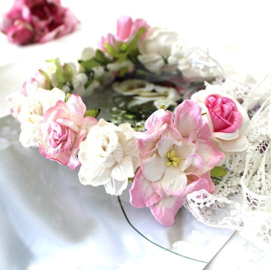 Couronne fleurs- Sweet Princes
