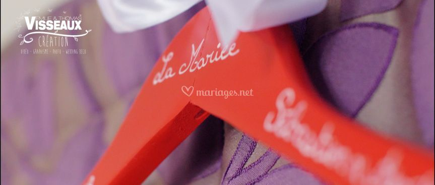 Cintre de la mariée