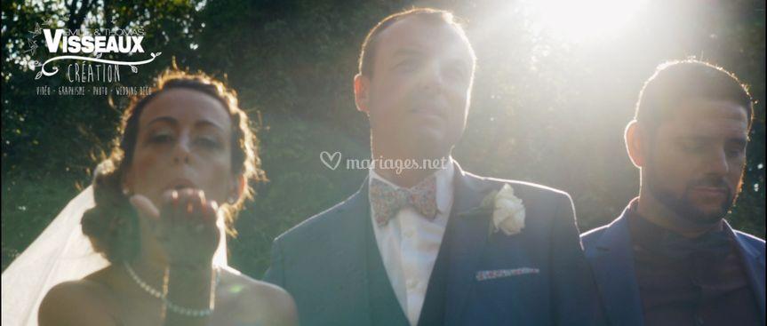 Le baisé de la mariée