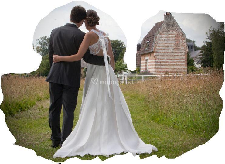 Marion et Romaric: un mariage au naturel